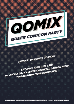 Qomix: Queer Comicon Party